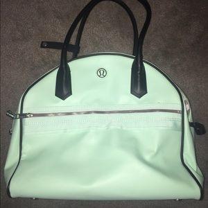 98a29f5dce lululemon athletica Bags - Lululemon Mint Green Gym Bag